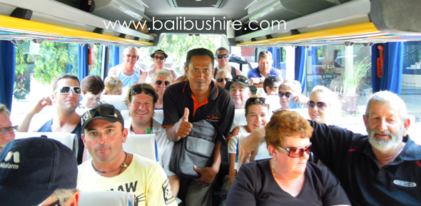 bali bus hire from australia