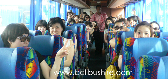 bali bus hire 45 seater big group from singapore