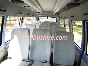 bali bus interior elf long 17 seats
