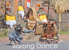 barong dance at ubud village
