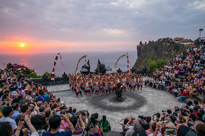 Kecak and Fire Dance at Uluwatu Temple Bali