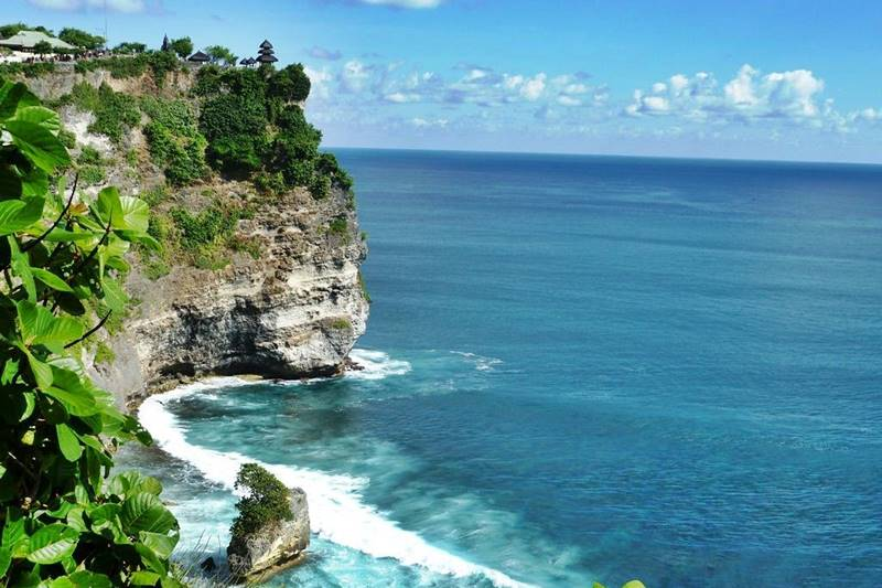 Uluwatu temple on the Cliff