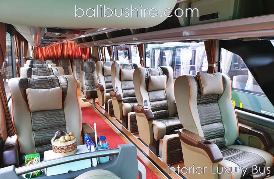 Luxury Bali bus hire 15 seater