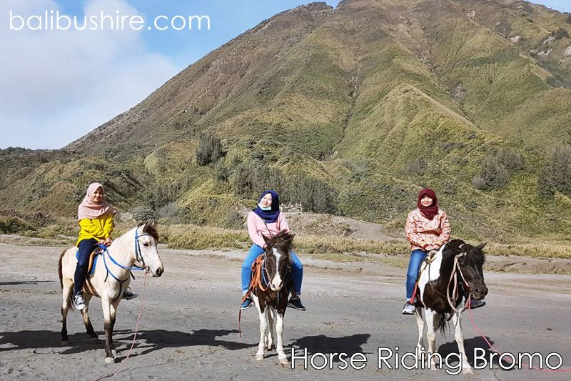 Horse Riding at Mount Bromo East of Java