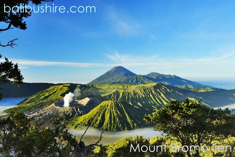 Mount Bromo Kawah Ijen East of Java